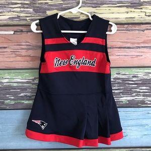 Bundle: Toddler Patriots bundle, dress, tee, skirt